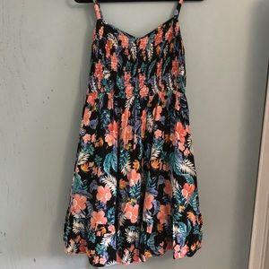 Torrid: Floral Midi Dress